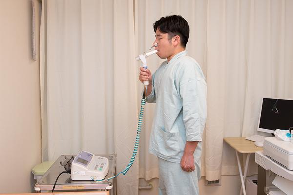 呼吸器 : 胸部X線(直接)・肺機能検査