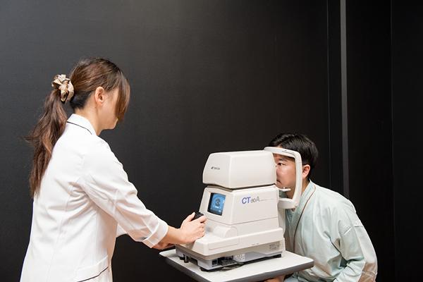 視聴覚 : 視力・眼底・眼圧・聴力