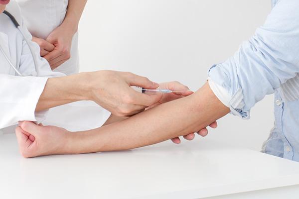 血液 : 血液検査13項目
