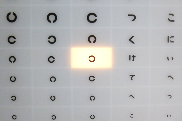 視聴覚 : 視力・ 聴力(会話法)