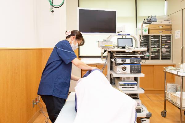 消化器 : 胃内視鏡(胃カメラ)又は胃部X線(バリウム)・便潜血